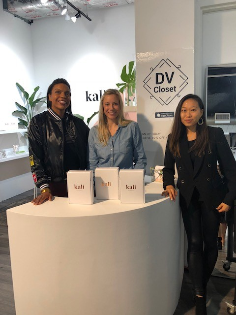 Over and Out: DV Closet featured at Kali Pop-Up showcasing the new facet of savvy shoppers